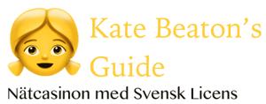 Kate Beaton's Guide: Nätcasinon med Svensk Licens