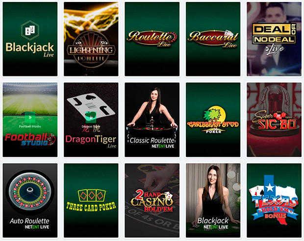 Casilando Casino live