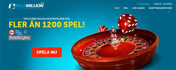Play Million Casino live